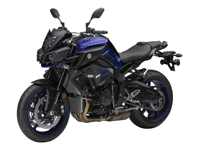 2018 Yamaha MT-10 Yamaha Blue Photo 3 of 4