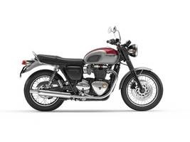 2018 Triumph Bonneville T120 Cranberry Red and Alumin Photo 1 of 1
