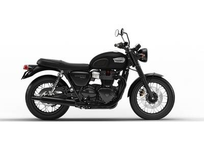 2018 Triumph Bonneville T100 Black Matt Photo 1 of 1