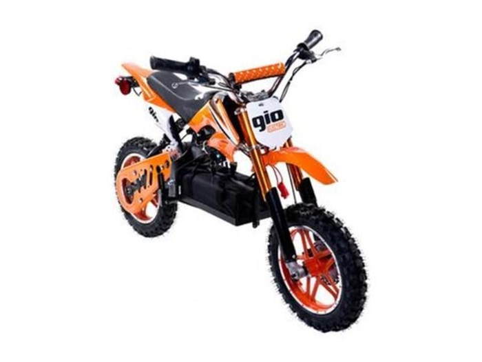 2019 GIO MOTORS ONYX DIRT BIKE (ORANGE) Photo 1 of 1