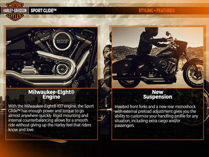 2018 Harley-Davidson FLSB - Softail® Sport Glide™ Photo 3 of 6