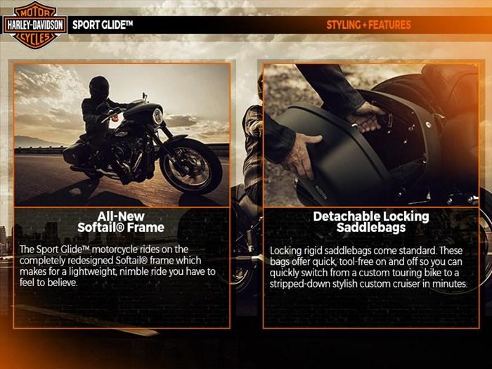 2018 Harley-Davidson FLSB - Softail® Sport Glide™ Photo 4 of 6