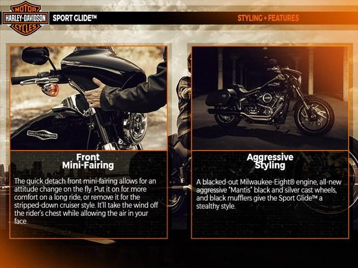 2018 Harley-Davidson FLSB - Softail® Sport Glide™ Photo 5 of 6