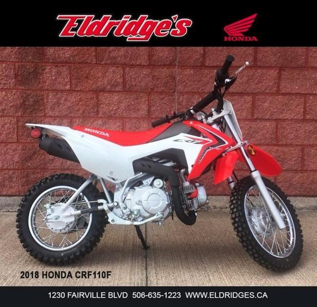 2018 Honda CRF110F Photo 1 of 5