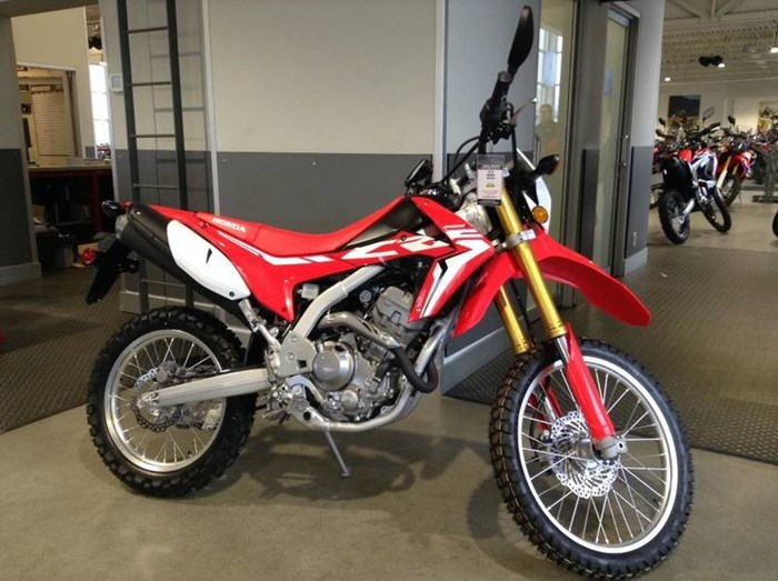 2018 Honda CRF250L Photo 1 of 4