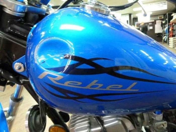 2009 Honda CMX250C Rebel Photo 2 of 7