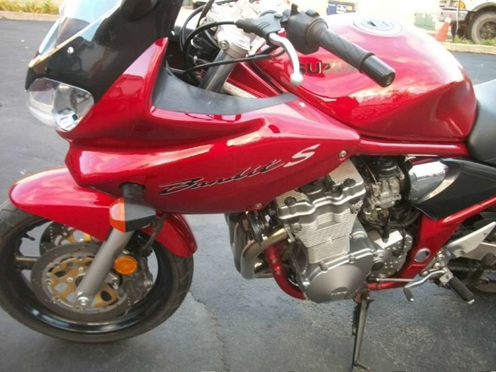 2001 Suzuki Bandit 600S Photo 13 of 17