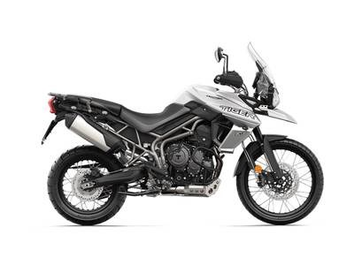 2018 Triumph Tiger 800 XCA Crystal White Photo 1 of 1