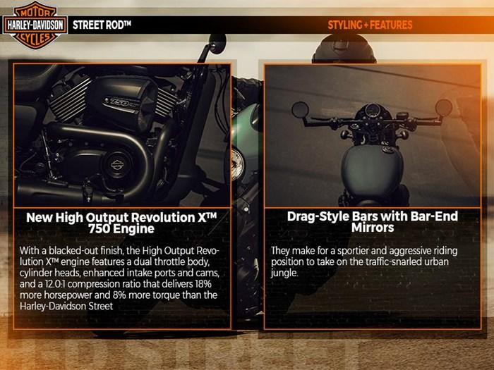 2018 Harley-Davidson XG750A - Street Rod® Photo 2 of 4