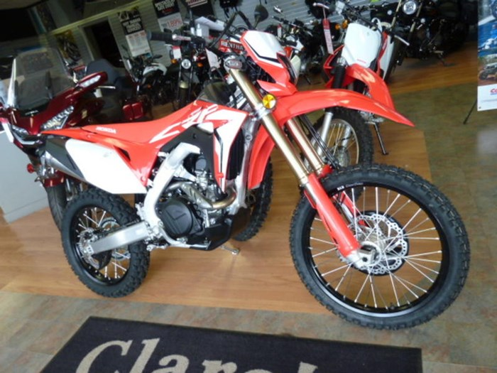 2019 Honda CRF450L Photo 2 of 6
