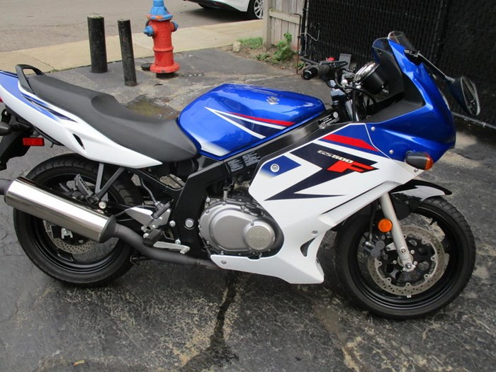 2008 Suzuki GS500F Photo 2 of 8
