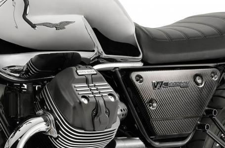 2018 Moto Guzzi V7 III Carbon Shine Photo 4 of 10