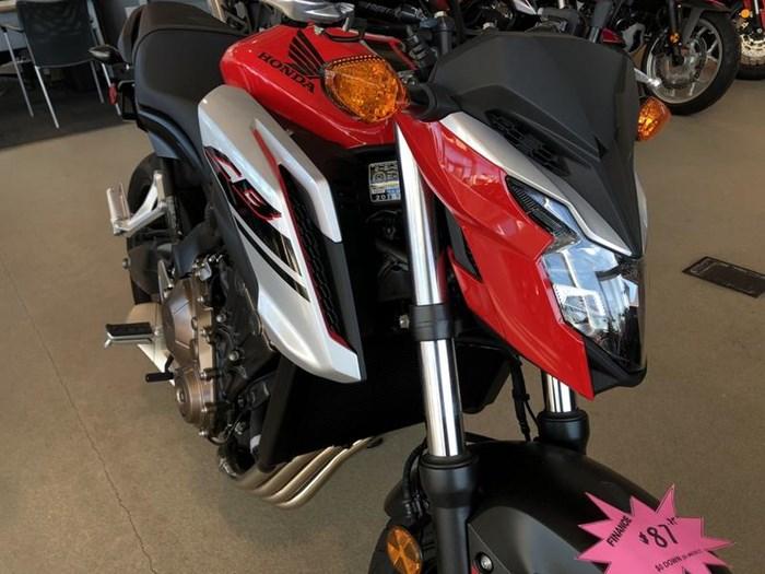 2018 Honda CB650F Photo 2 of 9
