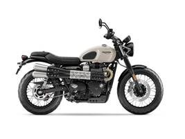 2019 Triumph Street Scrambler Fusion White Photo 1 of 1