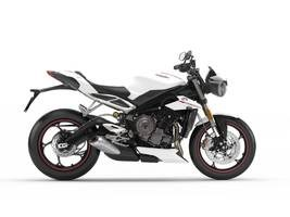 2019 Triumph Street Triple RS Crystal White Photo 1 of 1