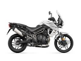 2019 Triumph Tiger 800 XRT Crystal White Photo 1 of 1