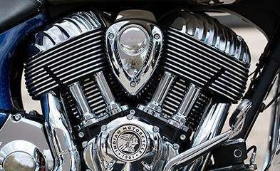 2019 INDIAN CHIEFTAIN CLASSIC THUNDER BLACK Photo 3 of 7
