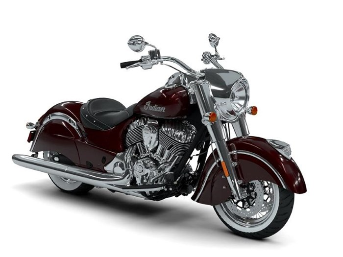 2018 Indian Motorcycle® Chief® Classic ABS Burgundy Metallic Photo 12 of 15