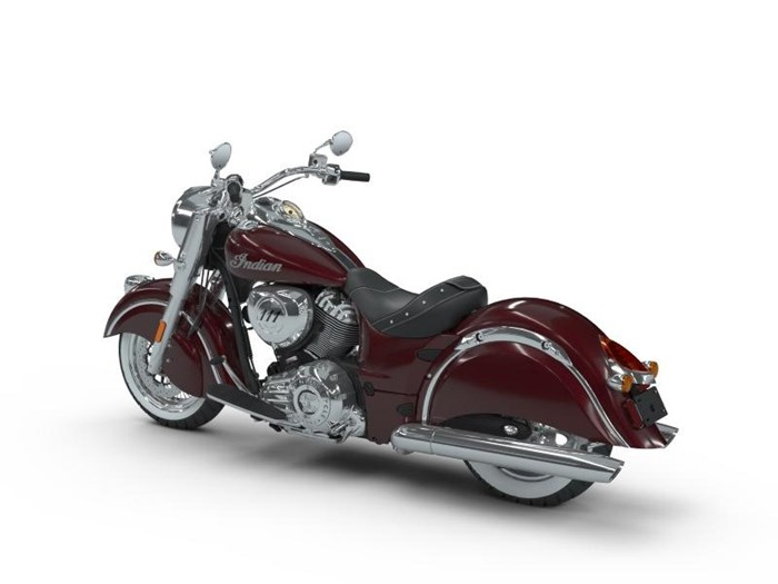 2018 Indian Motorcycle® Chief® Classic ABS Burgundy Metallic Photo 14 of 15