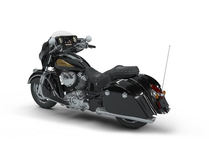 2018 Indian Motorcycle® Chieftain® Classic ABS Thunder Black Photo 3 of 5