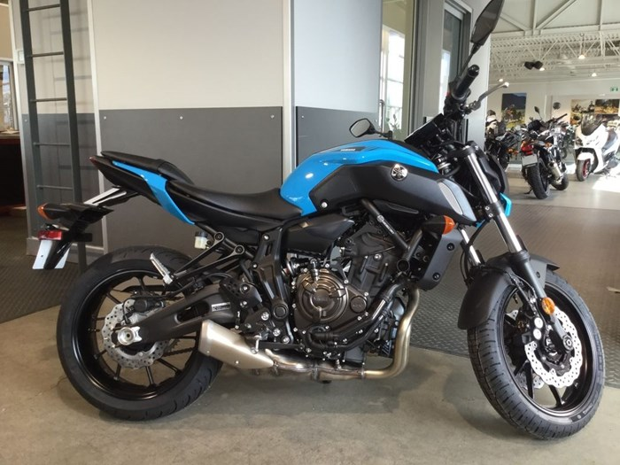 2019 Yamaha MT07 Pacific Blue Photo 1 of 5