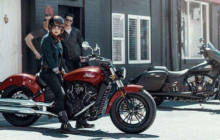 2019 INDIAN SCOUT SIXTY ABS RUBY METALLIC Photo 2 of 7