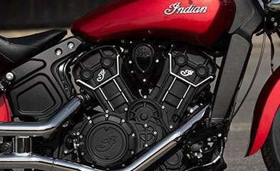 2019 INDIAN SCOUT SIXTY ABS RUBY METALLIC Photo 4 of 7