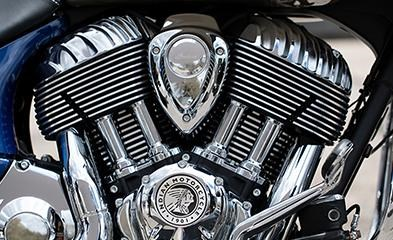 2019 INDIAN CHIEFTAIN CLASSIC DEEP WATER METALLIC DIRT TRACK T Photo 3 of 7