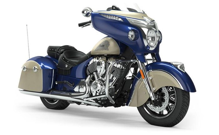 2019 INDIAN CHIEFTAIN CLASSIC DEEP WATER METALLIC DIRT TRACK T Photo 1 of 7