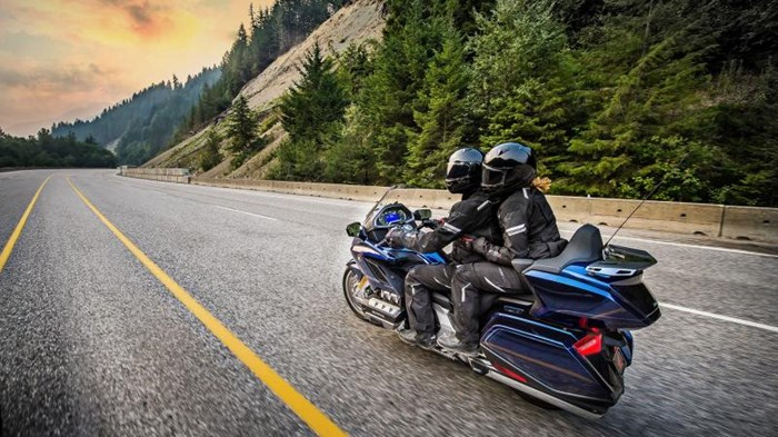 2019 Honda GOLD WING TOUR DCT ABS Photo 2 sur 20
