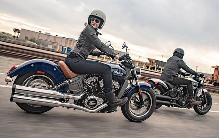 2019 INDIAN SCOUT ABS RED THUNDER BLACK Photo 2 of 8