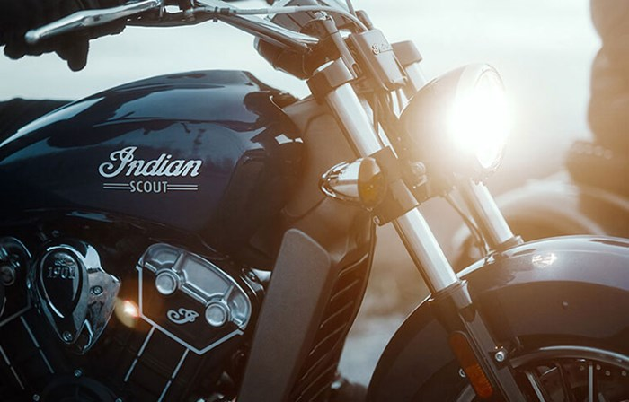 2019 INDIAN SCOUT ABS RED THUNDER BLACK Photo 5 of 8