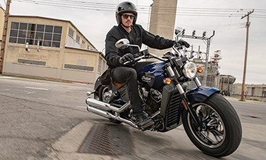 2019 INDIAN SCOUT ABS RED THUNDER BLACK Photo 7 of 8