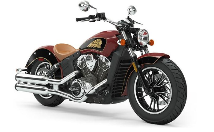 2019 INDIAN SCOUT ABS RED THUNDER BLACK Photo 1 of 8