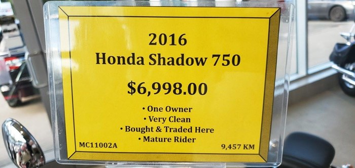2016 Honda Shadow Aero Photo 5 of 5