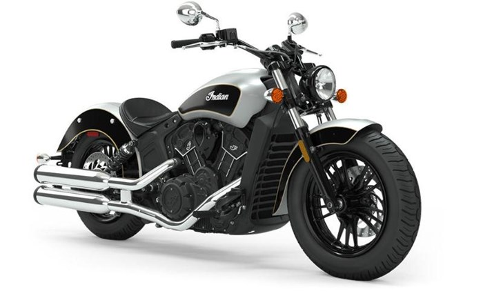 2019 INDIAN SCOUT SIXTY ABS STAR SILVER THUNDER BLACK Photo 1 sur 7