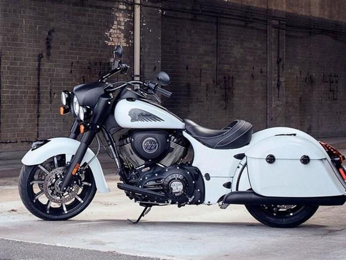 2019 Indian Motorcycle® Springfield® Dark Horse® White Smoke Photo 1 of 7
