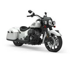 2019 Indian Motorcycle® Springfield® Dark Horse® White Smoke Photo 1 of 1