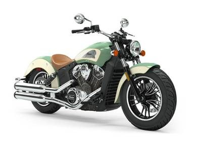 2019 Indian Motorcycle® Scout® ABS Willow Green / Ivory Cream Photo 1 of 1