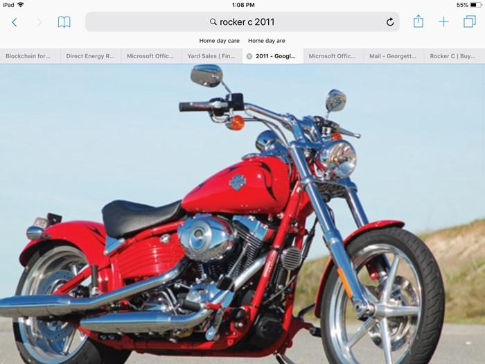 2011 Harley-Davidson Rocker C Photo 1 of 2