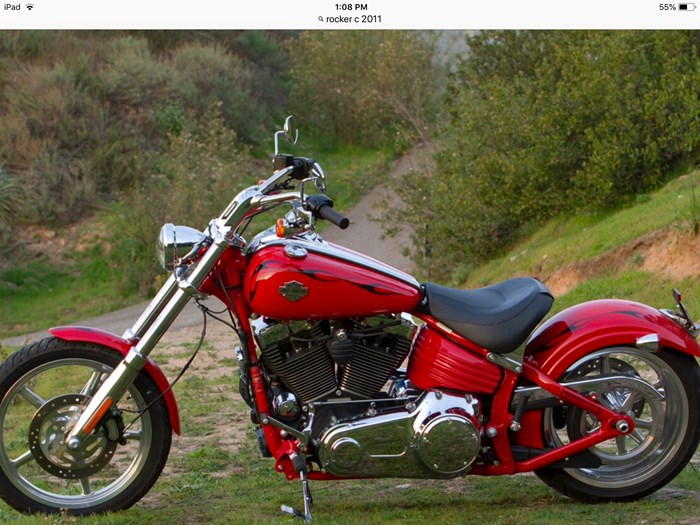 2011 Harley-Davidson Rocker C Photo 2 of 2