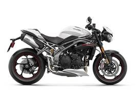 2019 Triumph Speed Triple RS Crystal White Photo 1 of 1