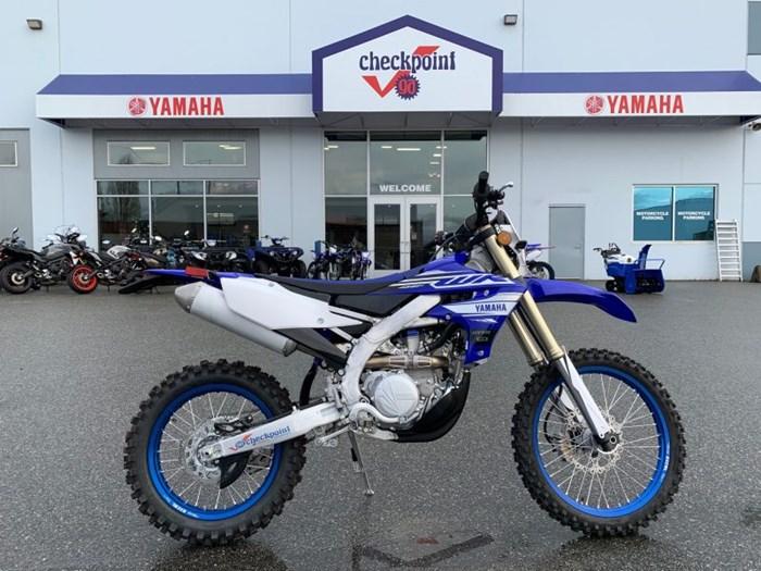 2019 Yamaha WR450F Streetster Photo 1 of 10