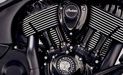 2019 INDIAN CHIEF DARK HORSE THUNDER BLACK SMOKE Photo 4 of 8