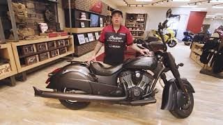 2019 INDIAN CHIEF DARK HORSE THUNDER BLACK SMOKE Photo 8 of 8
