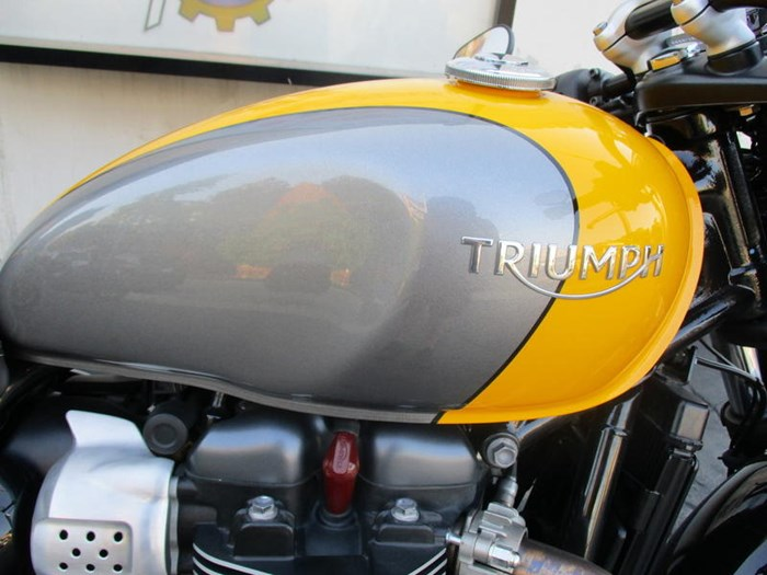 2017 Triumph Street Cup Racing Yellow/Silver Ice Photo 2 of 7
