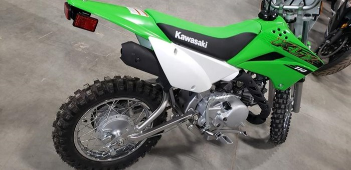2020 Kawasaki KLX110 Photo 3 of 6