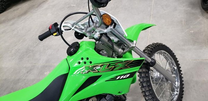 2020 Kawasaki KLX110 Photo 4 of 6