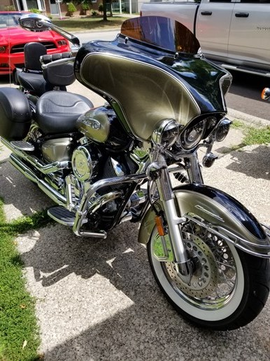2010 Yamaha Vstar 1100 Classic Photo 3 of 6