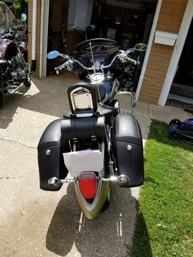 2010 Yamaha Vstar 1100 Classic Photo 4 of 6